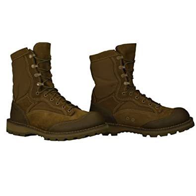Bates Heavy Weight USMC Rat Boot Overrun, Olive Mojave, 14