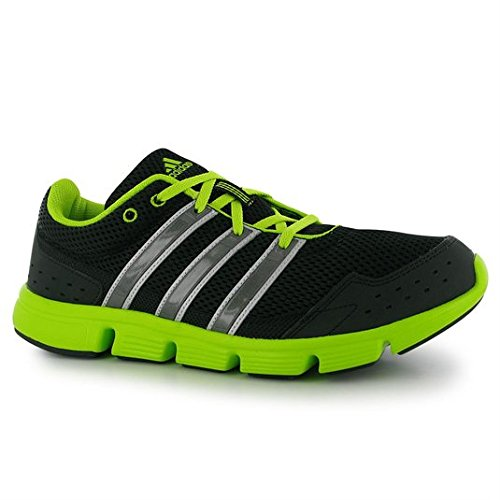adidas Breeze 101 m Mens Running sneakers / Shoes - Black/Green, 12 (Adidas Mens Breeze compare prices)