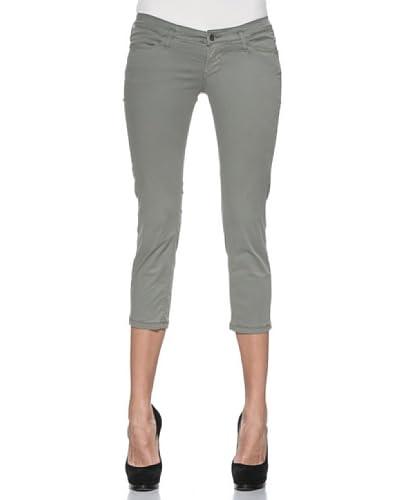Meltin'Pot Pantaloni Silm Milene [Verde Scuro]