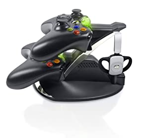 Xbox 360 Energizer Power and Play Charging System - Black