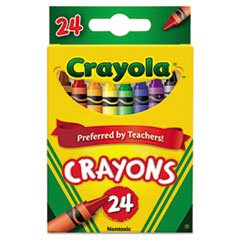 - Classic Color Pack Crayons, 24 Colors/Box