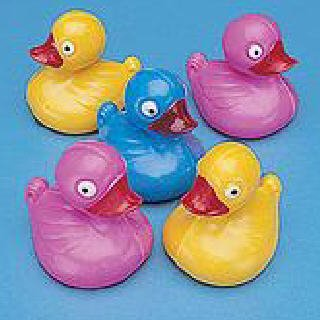 36 floating carnival duck pond ducks