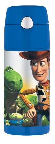 Thermos Funtainer Bottle, Toy Story 3, 12 Ounce