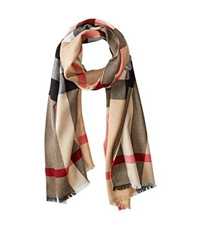 Burberry Women's Lux Fine Cashmere Scarf 3878358, Camel Check