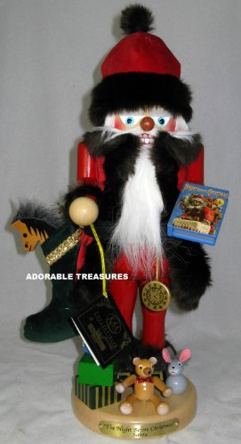 "Steinbach Night Before Christmas 17"" Limited Edition Nutcracker #ES1931"