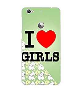 LE ECO LE 1S I LOVE GIRLS Back Cover by PRINTSWAG