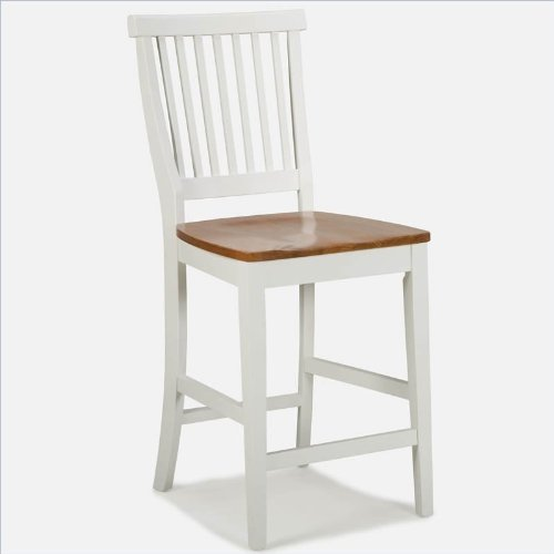 White Wood Chair front-1078460