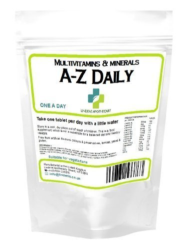 Multivitamin A-Z Daily Tablets 365 Tablets