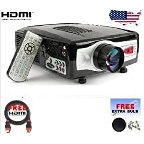 HDMI Video Theater Projector for Wii, ps3, Xbox, DVD, Notebook