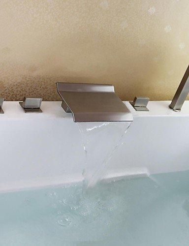 kissrainr-vasca-da-bagno-rubinetto-contemporanea-cascata-handshower-incluso-ottone-nichel-spazzolato