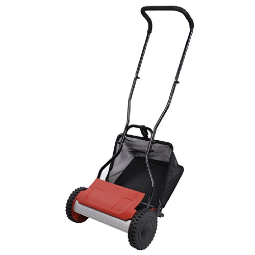 FDS Hand Push mower with grass collector non-contact mute type