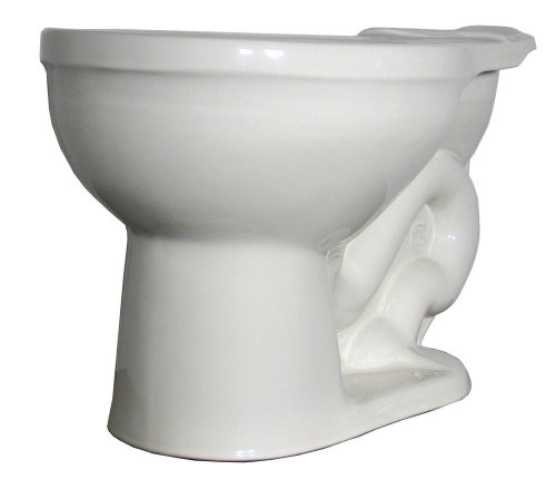 Buy Crane Plumbing Galaxy 1.6 GPF / 6.0 LPF 12-Inch Vitreous China Toilet Bowl #3352
