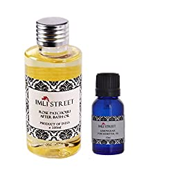 Imli Street Rose & Patchouli After Bath Oil (Essential Oil Free)
