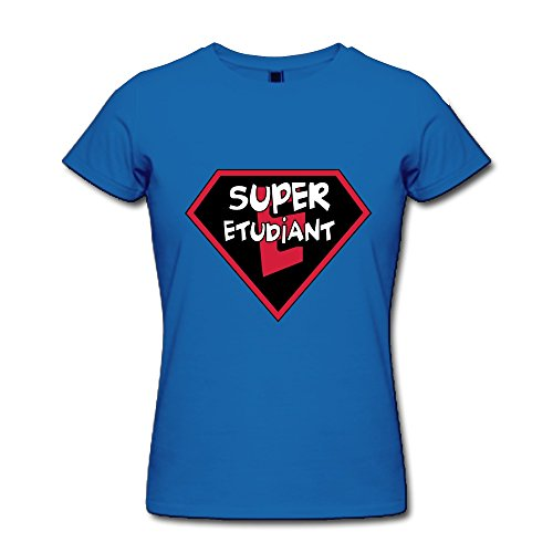 Super Etudiant Classic 100% Cotton Royalblue Shirt For Baby Size S