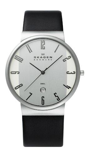 SKAGEN (スカーゲン) 腕時計 basic leather mens 355XLSLB メンズ [正規輸入品]