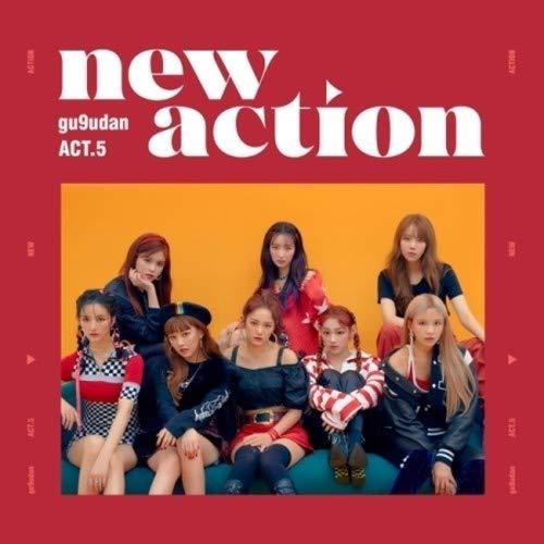 CD : Gugudan - Act.5 New Action (With Booklet, Photos, Stickers, Asia - Import)