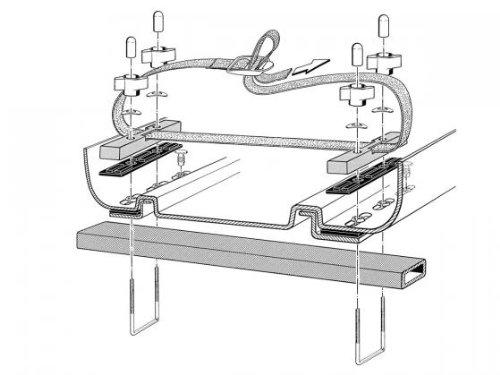 Kamei KAMEI Montagesatz f. Delphin 375 Dachbox