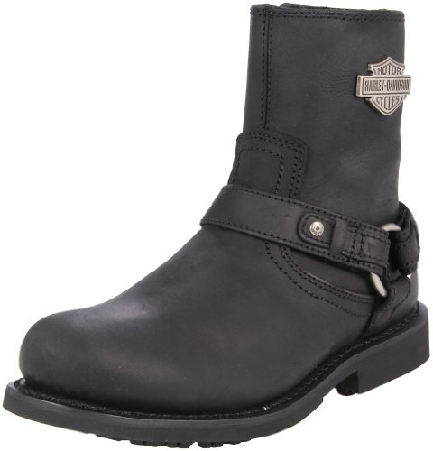 Harley-Davidson Men's Scout Motorcyle Boot,Black,10.5 M US