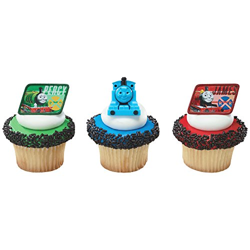 DecoPac Thomas and Friends Cupcake Rings, 12 Count - 1