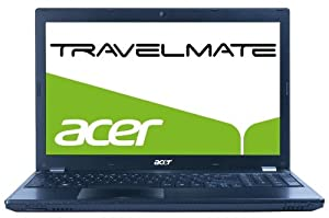 Acer Travelmate 5760G-2458G75MNSK 39,6 cm (15,6 Zoll non Glare) Notebook (Intel core i5 2450M, 2,5 GHz, 8GB RAM, 750GB HDD, NVIDIA GT 630M, DVD, Win 7 HP)