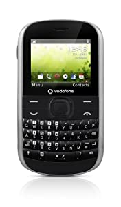 Vodafone VF354 Pay as you go Handset - Black/Silver