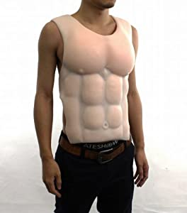 Amazon.com: Silicon muscle body suit body builder, professional