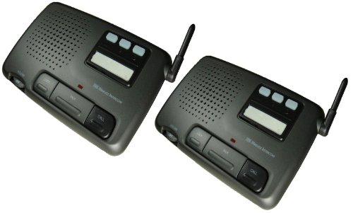 Digital 3-Channel Fm Wireless Intercom System For Home And Office, 2-Station front-225510