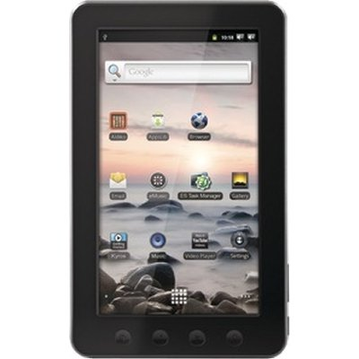 on Coby Kyros 7 Inch   Android 2 3 4 Gb Internet Touchscreen Tablet