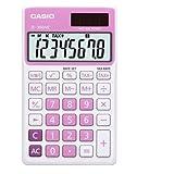 Casio SL-300NC-PK 基本電卓大型ディスプレイ税 SL300NC ピンク [並行輸入品]