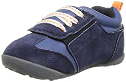 Carter\'s Every Step Oldie BW Stage 3 Early Walker Sneaker (Toddler), Navy, 5.5 M US Toddler