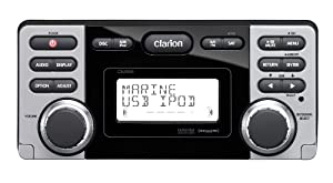 Clarion CMD8 1.8-Inch Marine CD-USB-MP3 Receiver by Clarion Mobile Electronics