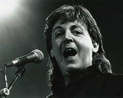 ブロマイド写真★ポール・マッカートニー Paul McCartney/横向いて唄う/ザ・ビートルズ The Beatles /【ノーブランド品】