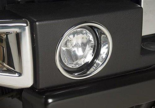 Kasei H3-FLR Hummer H3 Chrome Fog Lamp Rim Kit (Hummer H3 Rims compare prices)