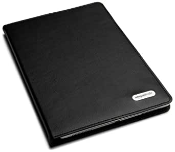 """Amazon Kindle DX Black Leather Cover (Fits 9.7"""" Display, Latest and 2nd Generation Kindles)"""