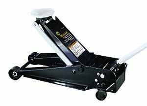 Omega 25037 Magic Lift Black Hydraulic Service Jack - 3 Ton Capacity