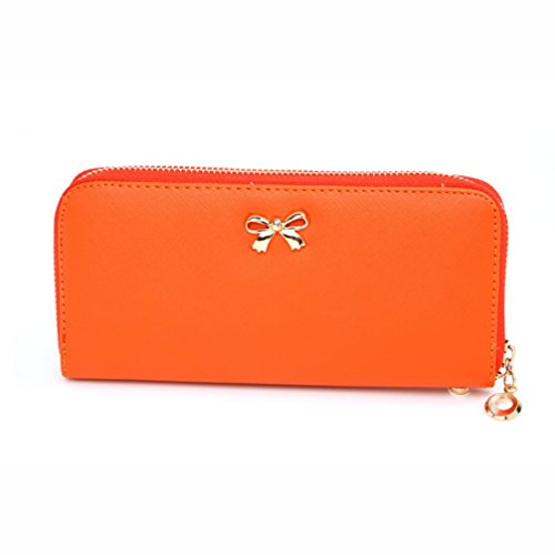 ularmo-lady-cute-bowknot-purse-solid-wearable-wallet-handbag-orange