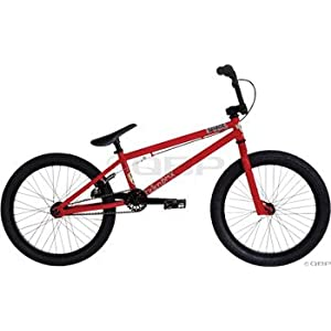 Fiction Savage BMX Bike Redrum Red/Black: Sports & Outdoors