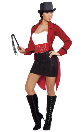 Fearless And Sexy Ringmaster Costume - MEDIUM/LARGE