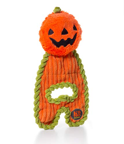 CHARMING Pet Cuddle Hugs Pumpkin Halloween Dog Toy
