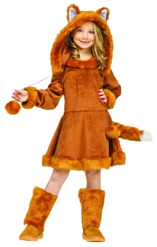 Big Girls' Sweet Fox Costume Large (12-14)