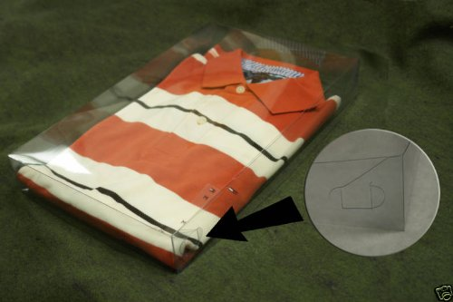 "24 Set 15X9-1/2X2"" Plastic Telescope Box Clothes Apparel Packing"