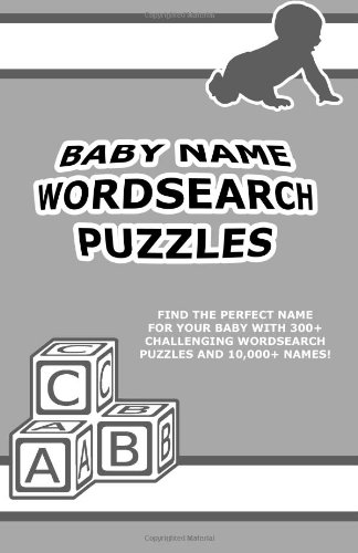 Baby Name Wordsearch Puzzles front-167305