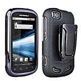 Motorola Cliq 2 Body Glove RUBBERIZED HARD SHELL W/ SWIVEL BELT CLIP & Kick Stand