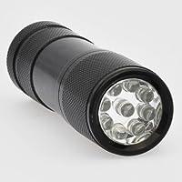 LEDwholesalers 9 LED 400 Nm Uv Ultra Violet Blacklight Flashlight 3 Aaa, 7301uv400