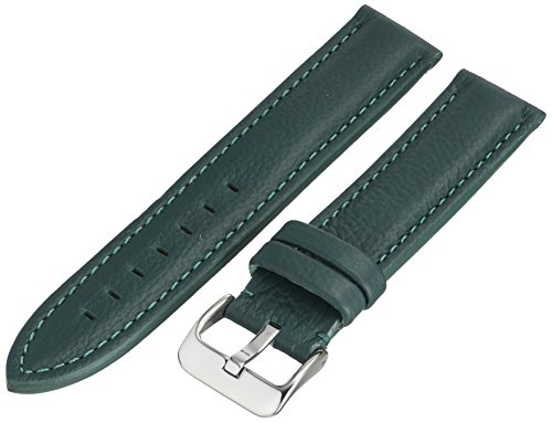 Hadley-Roma MS2044RJ 200 20mm Leather Calfskin Green Watch Strap (Rolls Royce Watch compare prices)