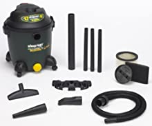 Shop-Vac 9631200 12-Gallon 4 5-Peak HP Detachable Blower Wet Dry Vacuum