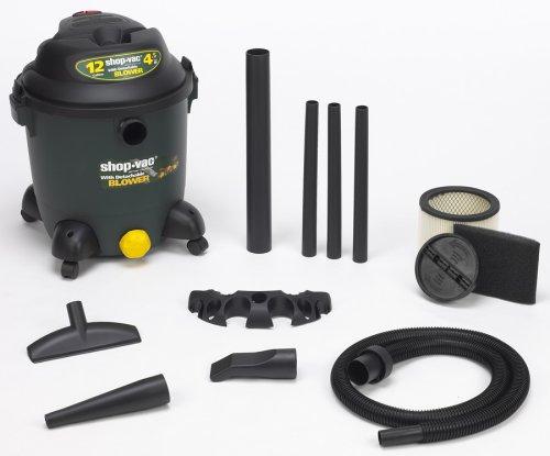 Shop-Vac 9631200 12-Gallon 4.5-Peak HP Detachable Blower Wet/Dry Vacuum