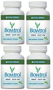 Bowtrol Probiotic Capsules - 4 bottles (Four Month Supply)