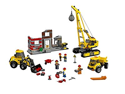 レゴ シティ ビル解体工事現場 60076