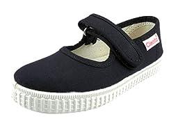 Cienta 56000 Mary Jane Fashion Sneaker  ,Navy,24 EU (7.5 M US Toddler)